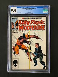 Kitty Pryde And Wolverine 3 Cgc 9.4 1984