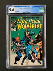 Kitty Pryde And Wolverine 6 Cgc 9.6 1985