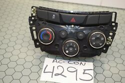 17 18 19 Chevrolet Trax Ac And Heater Control Used Stock 4295-ac