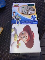 Toy Story Peel And Stick Wall Decals Glow In The Dark 34 Decals