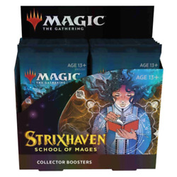 Magic The Gathering Strixhaven Collector Booster Box
