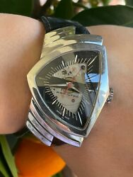 Hamilton Watch Ventura H245150 Skeleton Dial Automatic Limited 1957 Mens Swiss