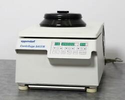 Eppendorf 5417r Refrigerated Benchtop Centrifuge W/ Fa45-30-11 Fixed-angle Rotor