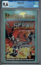 Cgc 9.6 Malibu Sun 13 1st Cover And Full Spawn Preview May 1992