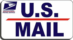 Us Mail Magnetic Sign U S Mail Door Protector
