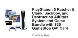Sony Ps5 Blu-ray Edition Console - White Bundlewill Send When Arrives