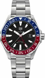 Brand New In Box Tag Heuer Aquaracer Automatic Pepsi Menand039s Watch Way201f.ba0927