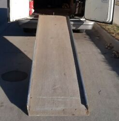 10and039 Non-slip Fiberglass Ramp With Shorter Extensison Ramp Included