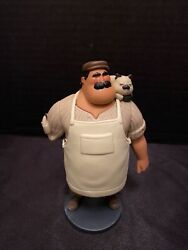 New Disney Massimo And Machiavelli Luca Figure Cake Topper Collectible Toy 5andrdquo