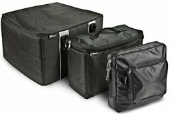 Autoexec Aue14009 File Tote Organizer Black With Cooler Bag And Tablet Case
