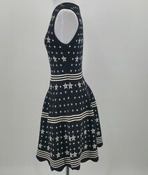 Ted Baker Mariae Star Jacquard Knit Dress Size 2