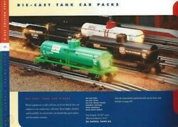 Lionel 6-26936 Die Cast Getty Sinclair Up And Phillips 4 Tank Car Nib Sh
