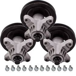 3x Spindle Assembly For Cub Cadet Riding Mower Tractor 918-04456a 918-04456