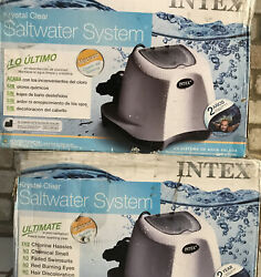 Intex Krystal Clear Saltwater System For 7000 Gal. Above Ground Poolsfor Parts