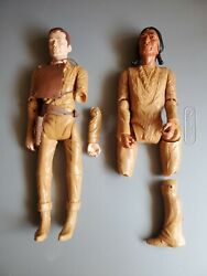 Vintage 1960's Johnny West And Geronimo Indian W/ Accessories 12 Marx Toys Parts