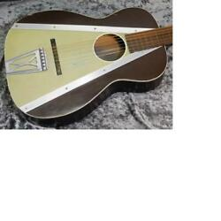 Harmony H1008 Caribbean Chocolate Brown And Taupe Acoustic Guitar