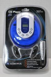 Audiovox™ Model No. Dm8206-45es Personal Cd Player - Free Shipping