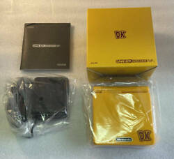 Nintendo Game Boy Advance Sp Donkey Kong Dk Limited To 1000 Units Tested Working