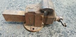 Vintage Reed 5 1/2'' Jaw Bench Vise No. 405 1/2 Made In Usa. In Norwich, Ct