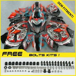 Airbrushed Fairings Complete + Tank Cover Fit Gsx-r1300 Hayabusa 08-19 40 L2