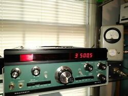 Heathkit Sb-104a With So-239 Antenna Accessory And Vfo Phono Connectors Installed