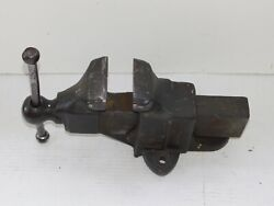 Vintage Reed Erie Pa 104 Vise 4 Jaws Bench Mount Blacksmith Forge Tools