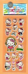 Hello Kitty Stickers Kitty Jumping Rope Eating Ice Cream Riding Dolphin
