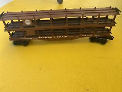 Lionel N And W O Scale Trailer Train Used Rttx 9129