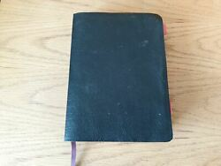 Macarthur Study Bible New American Standard Black Leather Updated Edition 2006