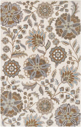 Surya Ath-5063 Athena Transitional Hand Tufted - Wool Ivory Area Rugs
