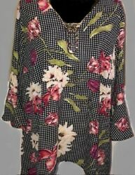 Relativity Pink Vangarden Top Size 2x New With Tags