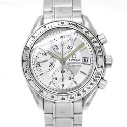 Omega Speedmaster Date 3513.30 Chronograph Automatic Silver Dial Mens 90129544