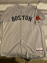 Authentic Boston Red Sox Dustin Pedroia Cool Base Jersey 52