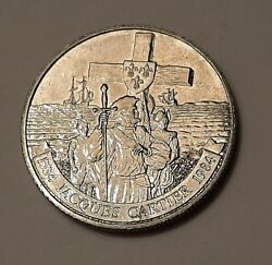 1984 Canada One Dollar Jacques 1534 - 1984 Coin 100 Nickel