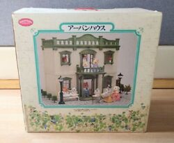 Vintage Sylvanian Families Urban House With Box From Japan