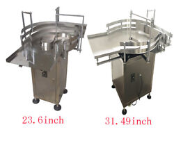 All Kinds Of Automatic Bottle Accumulation Table 23.6/31.49 Bottles Sort Plant