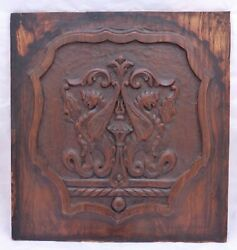 18 Antique Carved Architectural Furniture Doors Panels Salvaged Gothic 20th