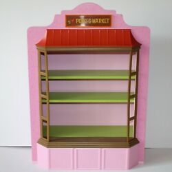 American Girl Nanea Mitchell Doll Family Market Wooden Store With Shelves Only