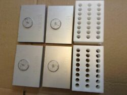 Two Adapter Sets For Qiagen Tissuelyser Retsch Mm400 Mixer Mill Clean Low Use