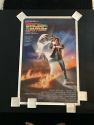 Original Back To The Future 1985 Nss Style Rolled One-sheet Movie Poster