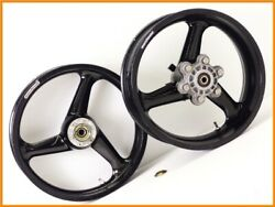 1998 900ss Final Edition Marquezini Magnesium Wheels Front And Rear Set W/ Glitter