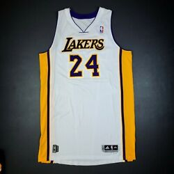 100 Authentic Kobe Bryant 2010 11 Lakers Pro Cut Limited Edition Lakers Jersey