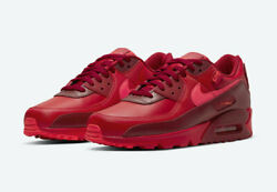 Nike Air Max 90 City Special Chicago All Triple Red Dh0146-600 Gs Men 4y-13