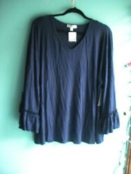 Roommates 2x Dark Navy Blue Top New With Tags
