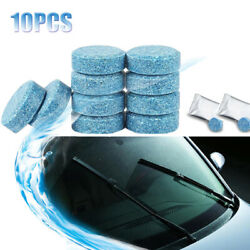 10pc Car Windshield Window Cleaning Tools Solid Effervescent Tablets Accessories