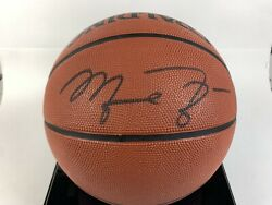 Michael Jordan Signed Spalding Basketball With Certificate Of Authenticity