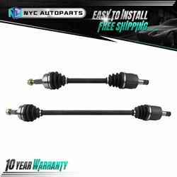 Pair Front Cv Axle Half Shaft For 1985-1987 Honda Prelude 2.0 Si W/ Auto Trans.