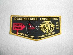 Order Of The Arrow Occoneechee Lodge 104 Es2014-3 Er2014-4a All Events Flap Bsa