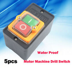 10a 380v Kao-10 Water Proof On/off Button Machine Drill Switch Plastic Motor Au