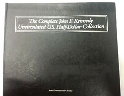 The Completejohn F Kennedy Uncirculated Us Half Dollar Collection Postal Coin